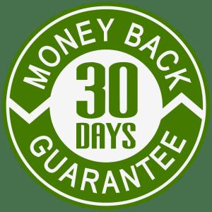 30 day money back return guarantee