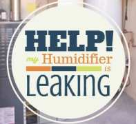 Help My Humidifier Is Leaking The Dirt