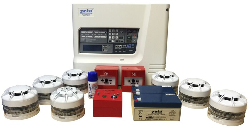 Wireless Fire Alarm System Kits