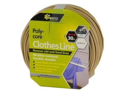 Sandstone Clothesline 30m