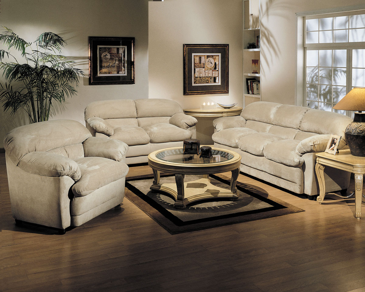 Acme Bella Easy Rider Living Room Set In Beige Microfiber Living Room Sets Living Room Sets