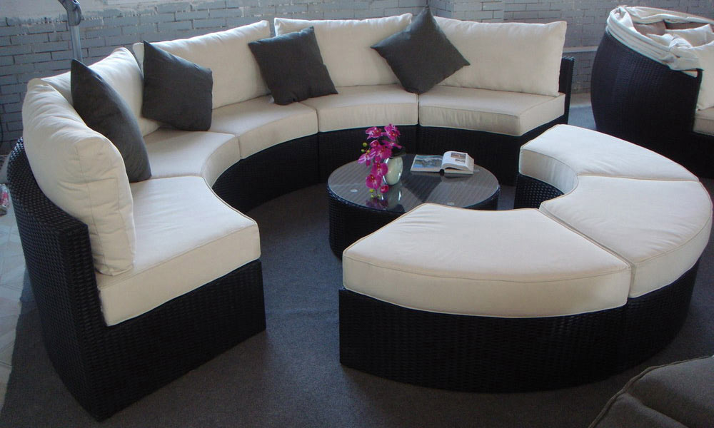 Madbury Road Outdoor Furniture Santorini Sectional Set