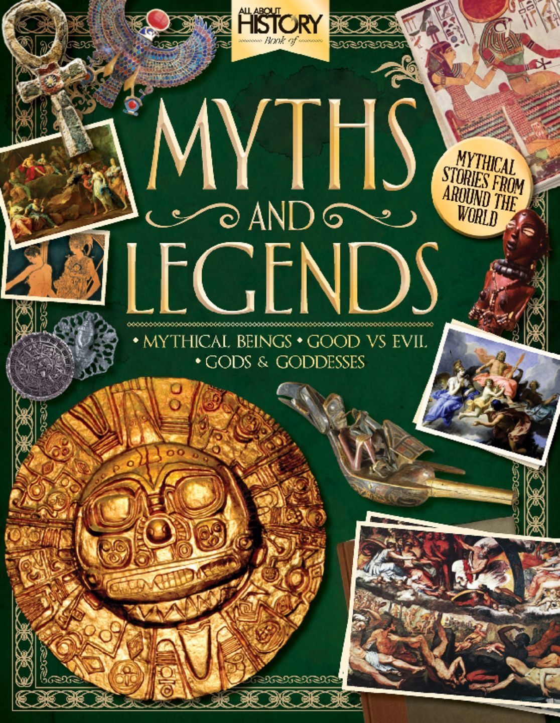 All About History Book Of Myths Amp Legends Magazine