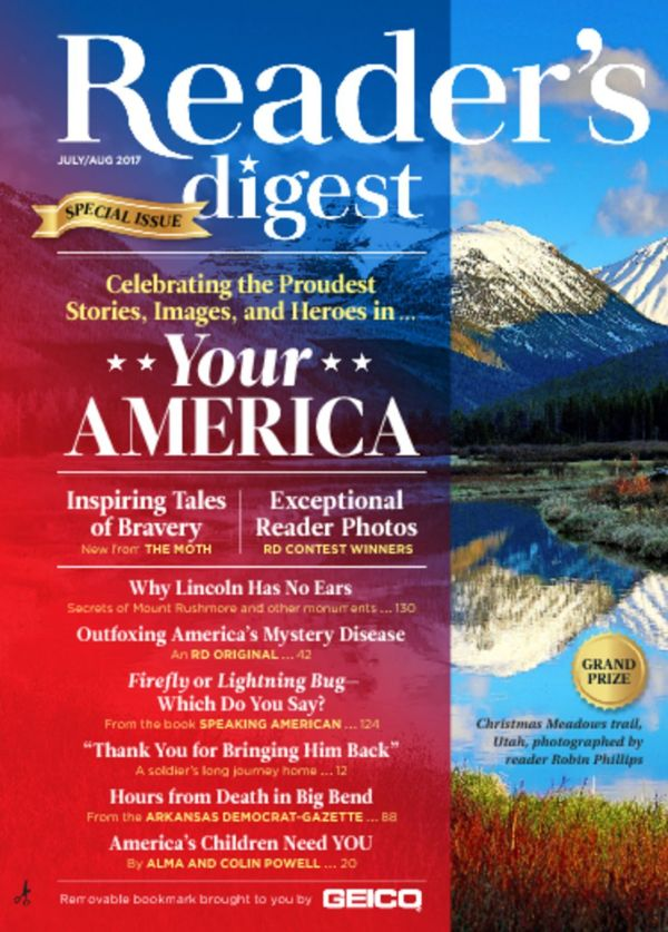 Reader's Digest Large Print Magazine - DiscountMags.com