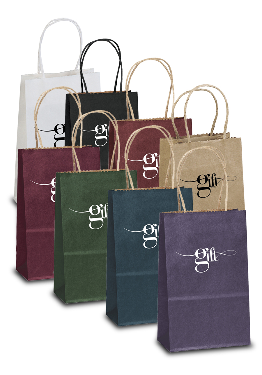 Personalized Toto Matte Paper Gift Bags BM34P58