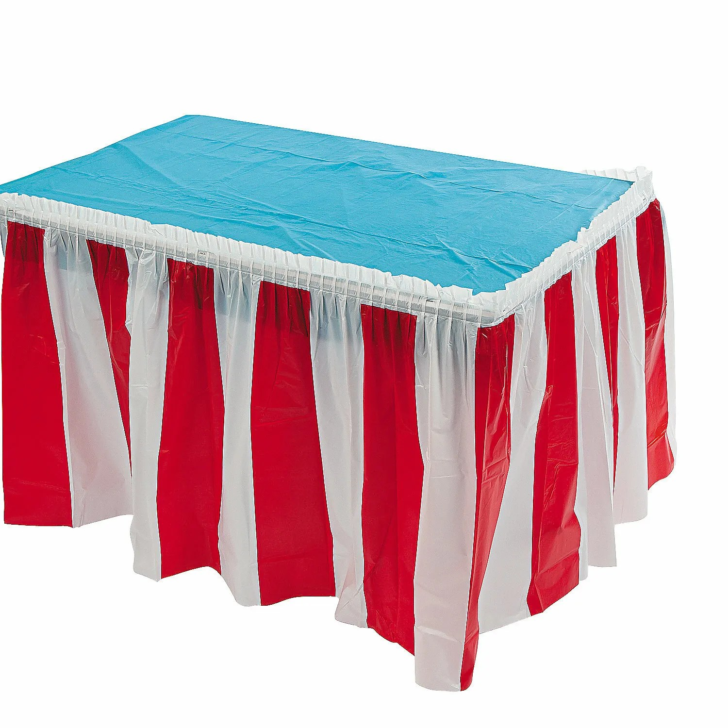 Red Amp White Striped Circus Carnival Party Supplies Plastic