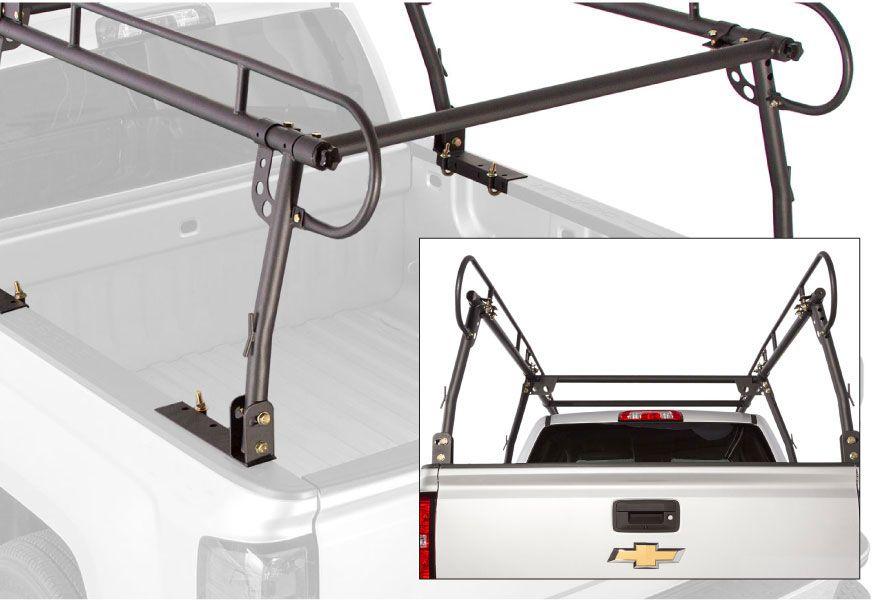 elevate outdoor steel universal over cab truck rack