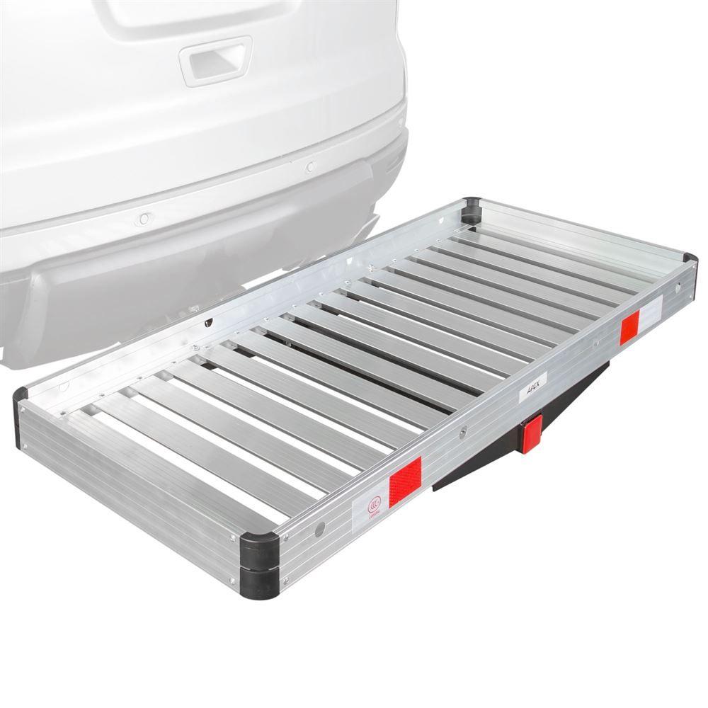 apex aluminum tray deluxe cargo carrier