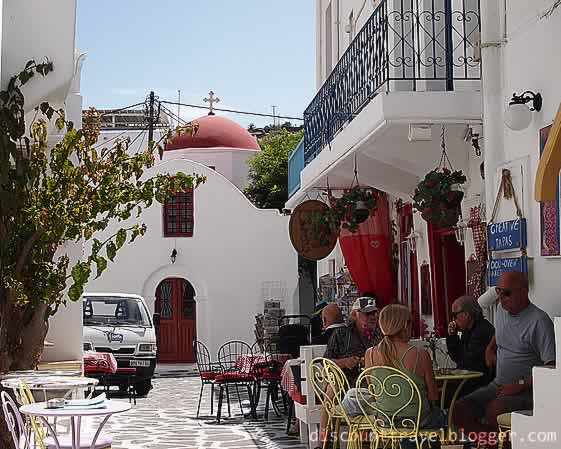Dining and Relaxing in Mykonos