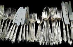 cutlery but not from the White House
