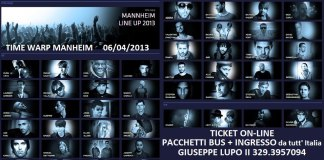 Time Warp 2013 bus da Rimini , Riccione e da Milano, Firenze , Roma e Bologna. Ticket, prevendite e biglietti d'ingresso