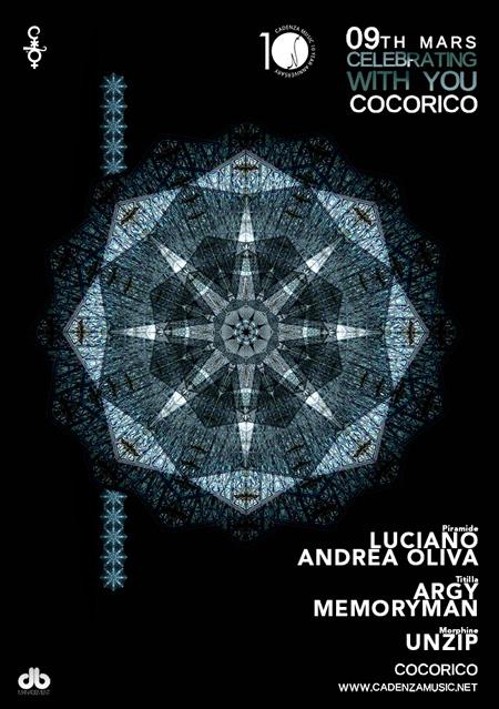 Sabato 9 Marzo Luciano al Cocorico per la serata Cosmoprof
