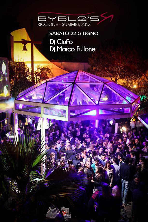 Sabato 22 Giugno Discoteca Byblos Riccione