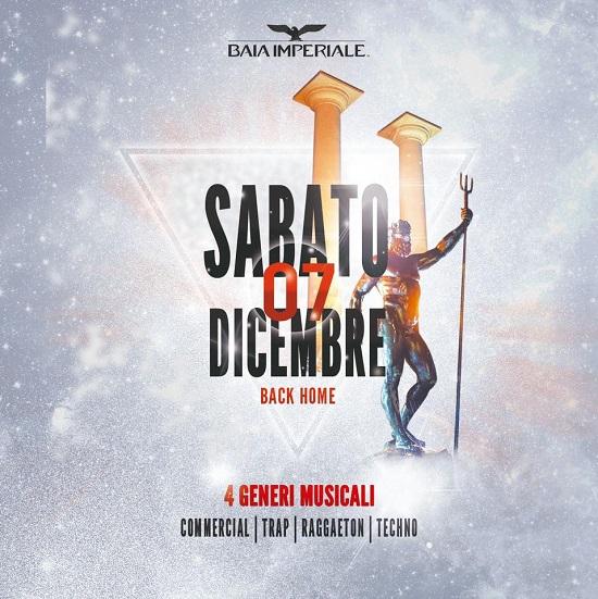 Sabato 7 Dicembre grande riapertura invernale della Baia Imperiale