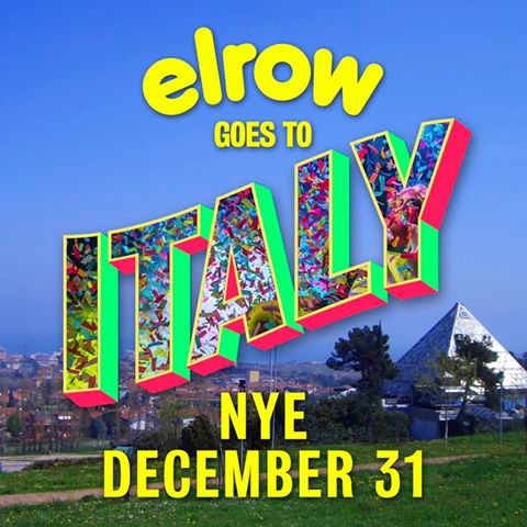 Elrow per il party di Capodanno 2017 del Cocorico