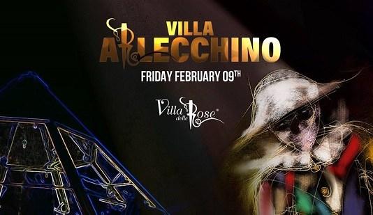 Villa Arlecchino l'evento speciale di Carnevale 2018 della Villa delle Rose