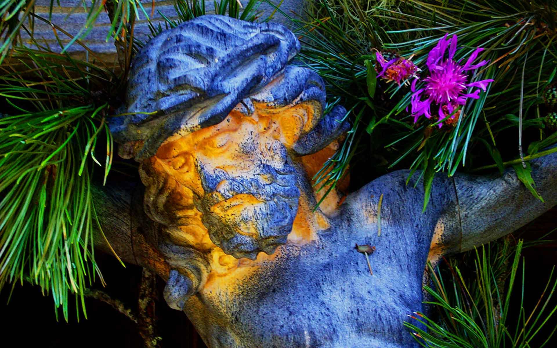 Norbert Klora Photo Jesus Christ, Dolomites, Northern Italy