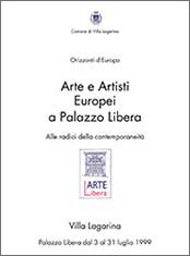 "Norbert Klora, exhibition catalog, ""Arte e Artisti Europei"", Orizzonti d'Europa, 1999, Palazzo Libera, Villa Lagarina, Italy, contemporary art, painting, drawing, printing"