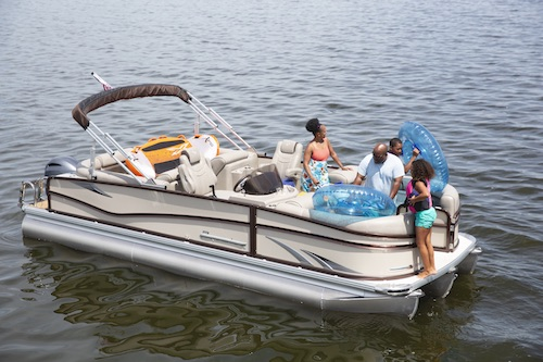 buying a pontoon boat discover boating