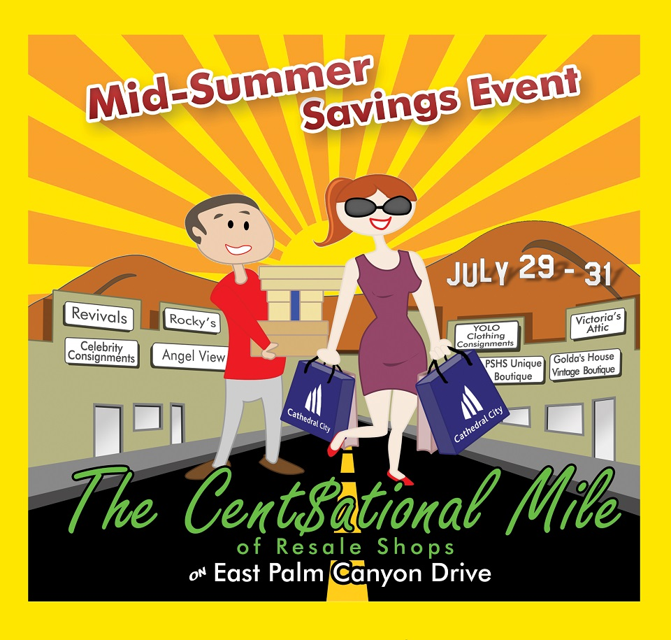 Mid-Summer Savings Event on the Cent$ational Mile of Resale Shops