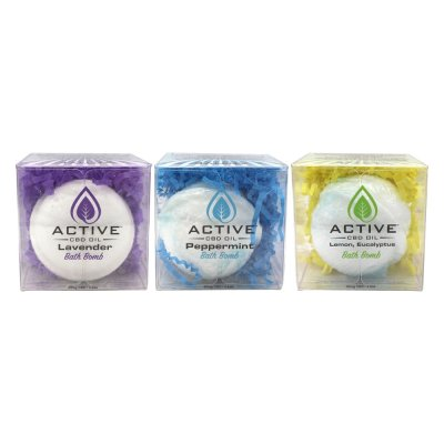Active Bath Bombs 40mg
