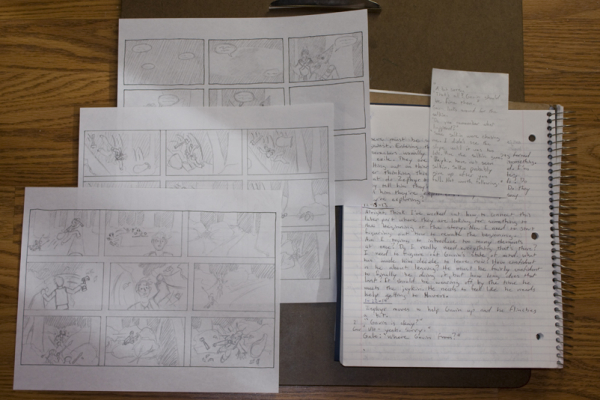 Tait's Notes and Sketches for Pacifica