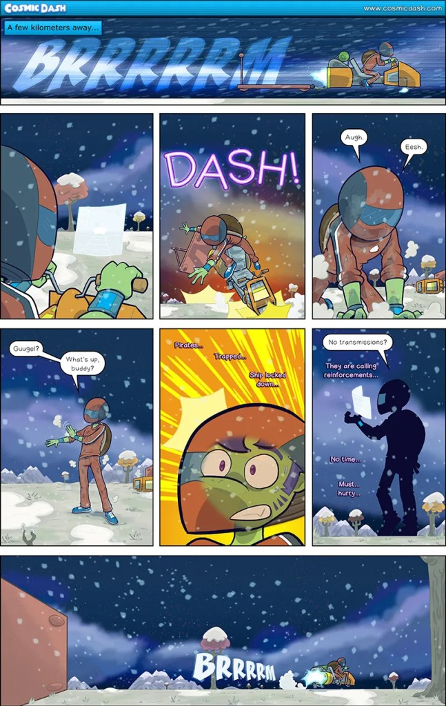 Cosmic Dash by David Davis