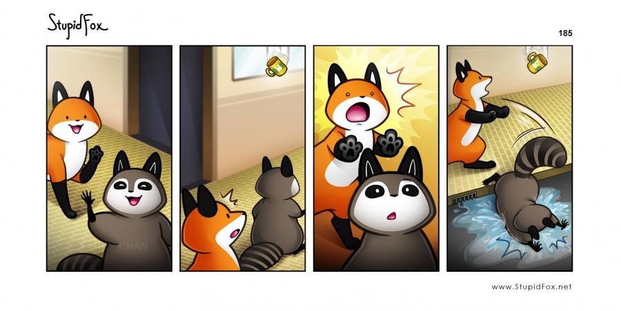 StupidFox by Emily Y. Chan