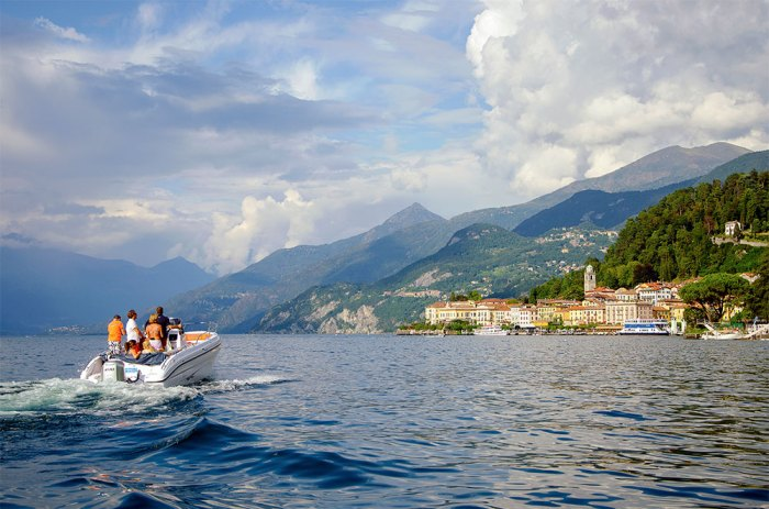 Photograph of Lake Como