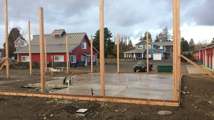 twin sisters creamery construction