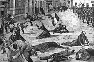 The massacre at Fourmies.