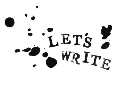 Lets write logo