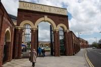 Entrance marshall's yard