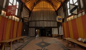 Great Hall at Gainsborough Old Hall