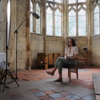Anna Scott at Gainsborough Old Hall
