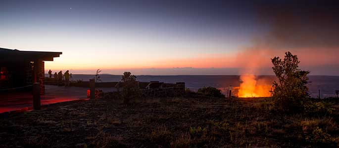 Visit Hawaii Volcanoes National Park and Mt. Kilauea on the Big Island
