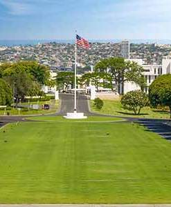 National Cemetery of the Pacific at Punchbowl