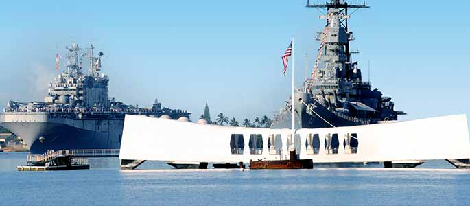 Pearl Harbor Experience from Big Island