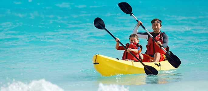 Kayaking Fun for All Ages