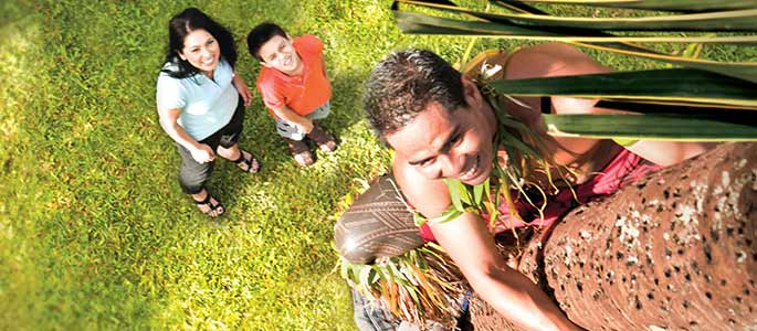 Island Games And Demonstrations – Polynesian Cultural Center