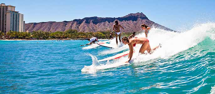 Surf Lessons in Waikiki