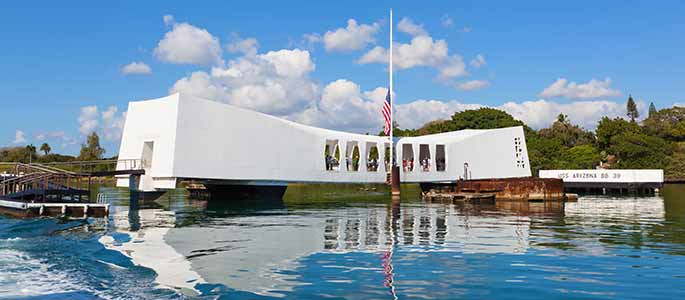 Board the USS Arizona Memorial