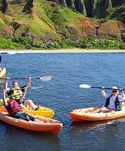 Kayak Along Kauai's Stunning Na Pali Coast