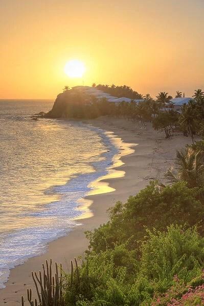 barbuda curtain bluff beach