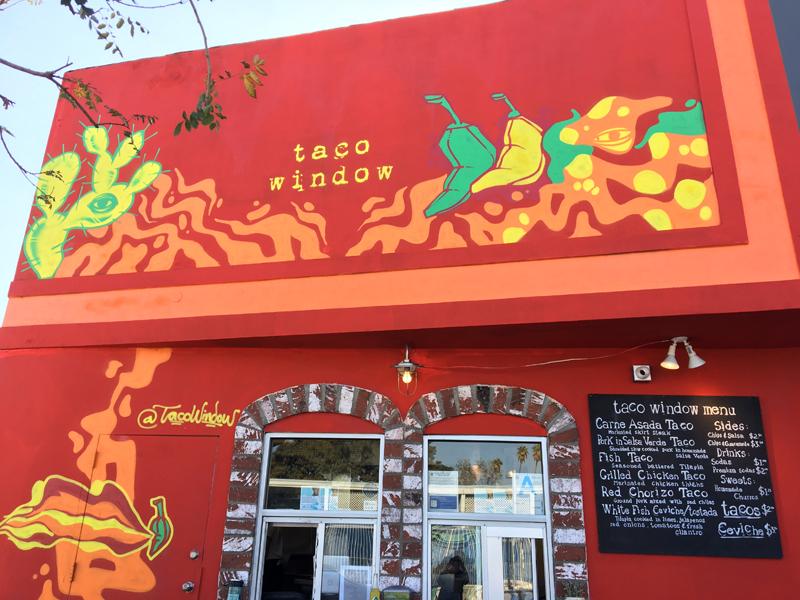 Taco Window