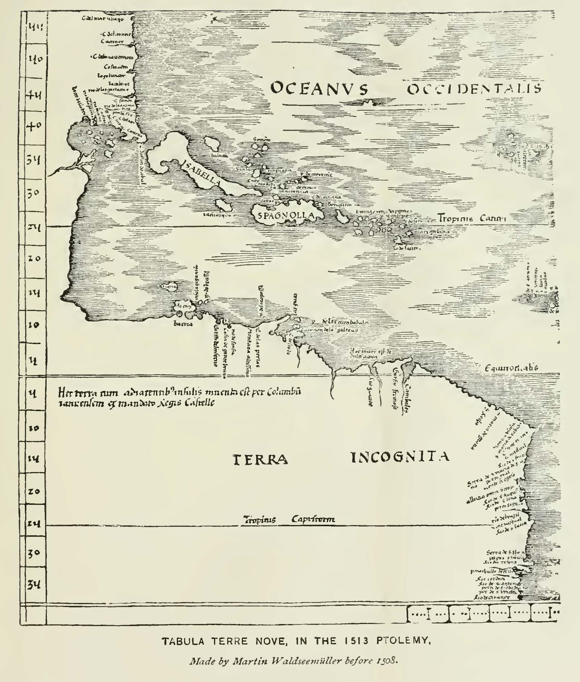 Ptolemy map of 1513