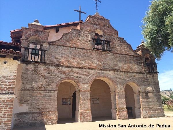 Mission San Antonio de Padua web