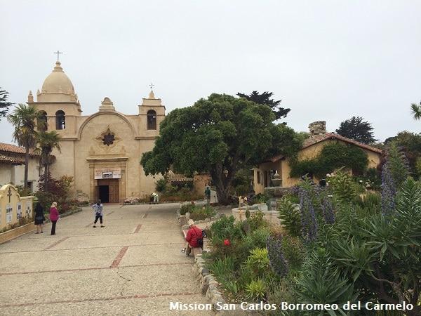 Mission San Carlos Borromeo del Carmelo web
