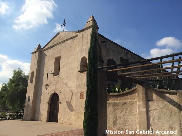 Mission San Gabriel Arcangel web