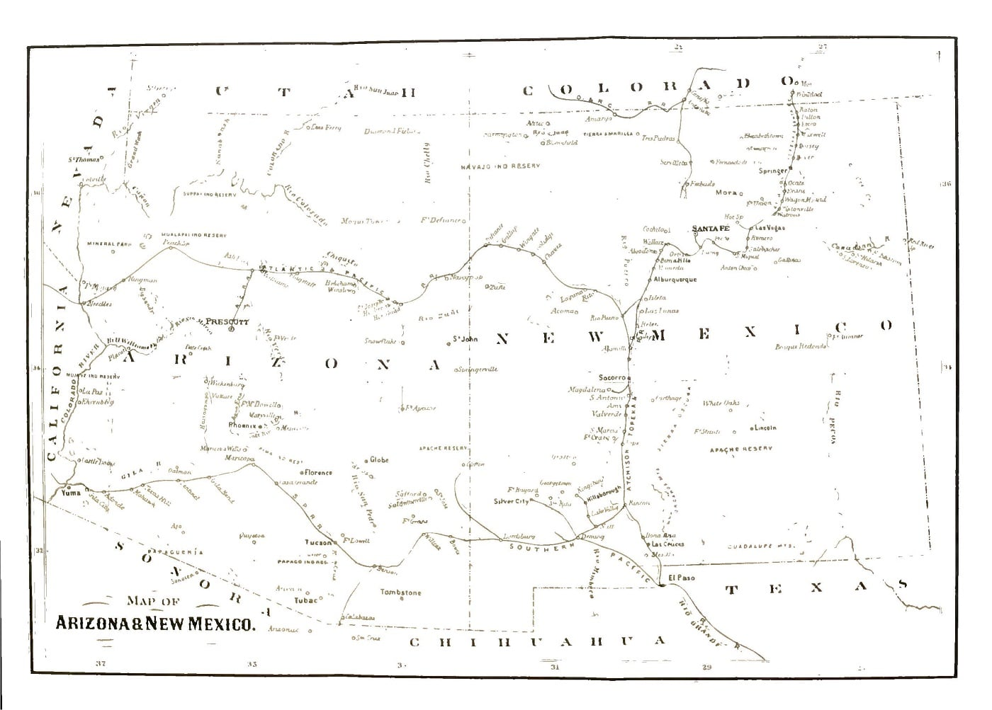 History of Arizona and New Mexico by Bancroft web